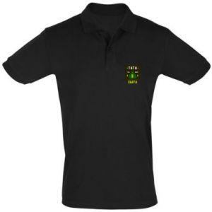 Koszulka Polo Tata na wagę zlota