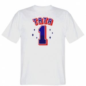 T-shirt Father number 1 V2