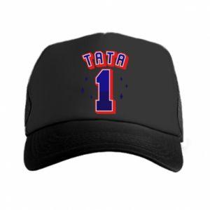 Trucker hat Father number 1 V2