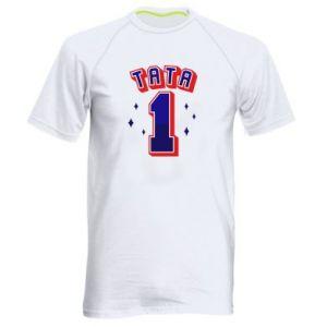 Men's sports t-shirt Father number 1 V2