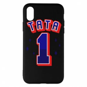 Phone case for iPhone X/Xs Father number 1 V2