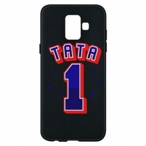Phone case for Samsung A6 2018 Father number 1 V2