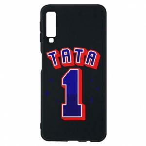 Phone case for Samsung A7 2018 Father number 1 V2