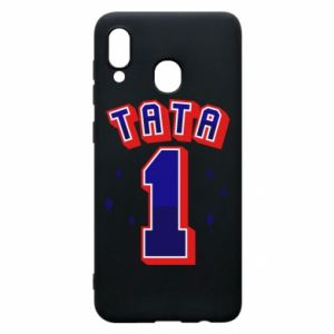 Phone case for Samsung A20 Father number 1 V2