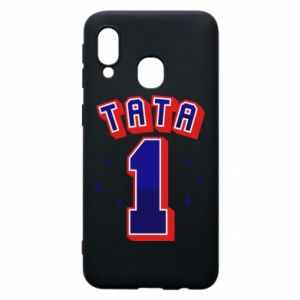 Phone case for Samsung A40 Father number 1 V2