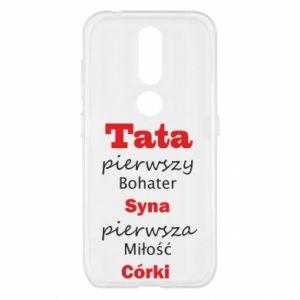 Etui na Nokia 4.2 Tata pierwszy bohater syna...