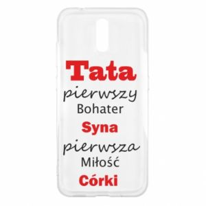 Etui na Nokia 2.3 Tata pierwszy bohater syna...