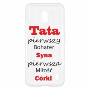 Etui na Nokia 2.2 Tata pierwszy bohater syna...