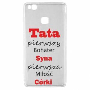 Etui na Huawei P9 Lite Tata pierwszy bohater syna...