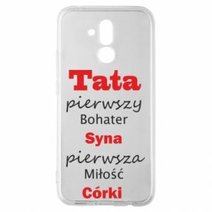 Etui na Huawei Mate 20 Lite Tata pierwszy bohater syna...