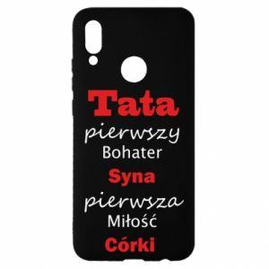 Etui na Huawei P Smart 2019 Tata pierwszy bohater syna...