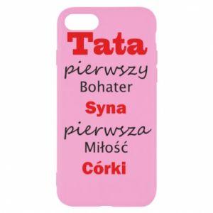 Etui na iPhone SE 2020 Tata pierwszy bohater syna...