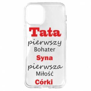 Etui na iPhone 12 Mini Tata pierwszy bohater syna...