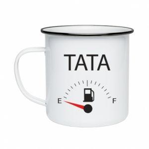 Enameled mug Dad load - PrintSalon
