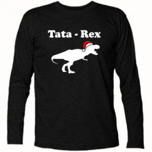 Koszulka z długim rękawem Tata - rex
