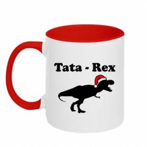 Kubek dwukolorowy Tata - rex