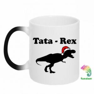 Kubek-kameleon Tata - rex