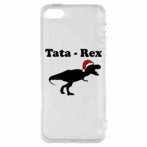 Etui na iPhone 5/5S/SE Tata - rex