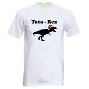 Męska koszulka sportowa Tata - rex
