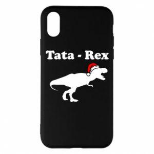 Etui na iPhone X/Xs Tata - rex