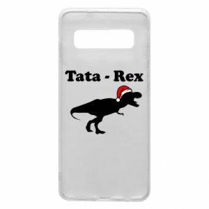 Phone case for Samsung S10 Dad - rex