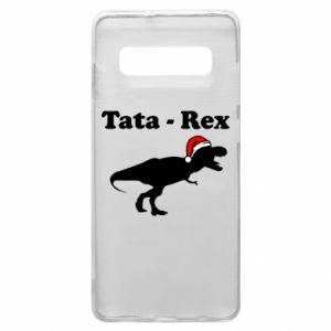 Etui na Samsung S10+ Tata - rex
