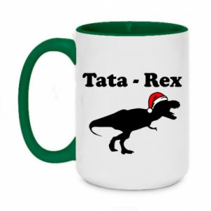 Two-toned mug 450ml Dad - rex