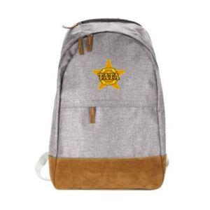 Urban backpack Dad fair