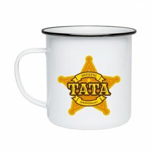Enameled mug Dad fair