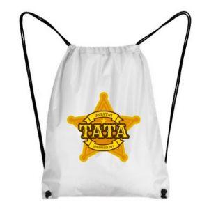 Plecak-worek Tata sprawiedliwy