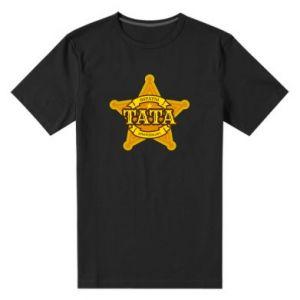 Męska premium koszulka Tata sprawiedliwy