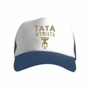 Czapka trucker dziecięca Tata wymiata