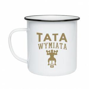Enameled mug Sports dad