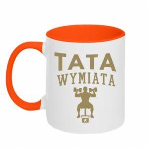 Two-toned mug Sports dad