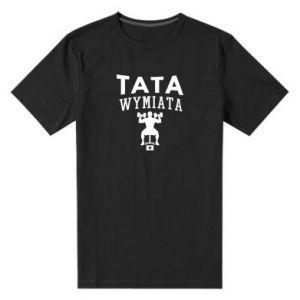 Męska premium koszulka Tata wymiata