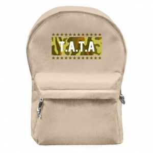 Backpack with front pocket Father