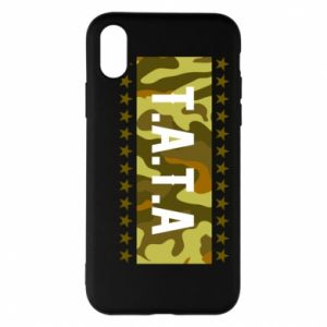 Phone case for iPhone X/Xs Father