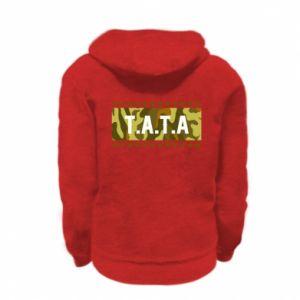 Bluza na zamek dziecięca TATA