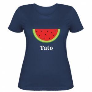 Damska koszulka Tato arbuza