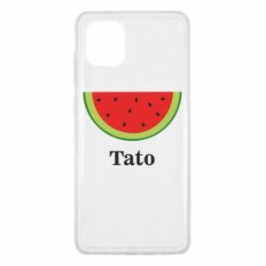Etui na Samsung Note 10 Lite Tato arbuza
