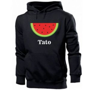 Męska bluza z kapturem Tato arbuza