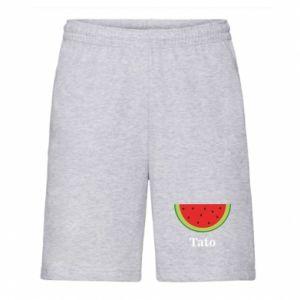 Men's shorts Tato arbuza - PrintSalon
