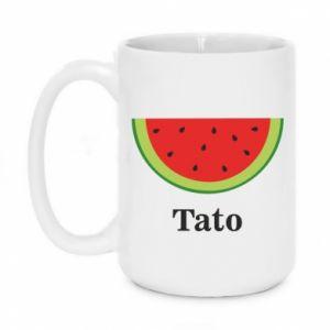 Mug 450ml Tato arbuza - PrintSalon