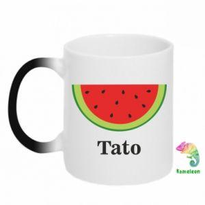 Chameleon mugs Tato arbuza