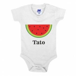 Body dla dzieci Tato arbuza