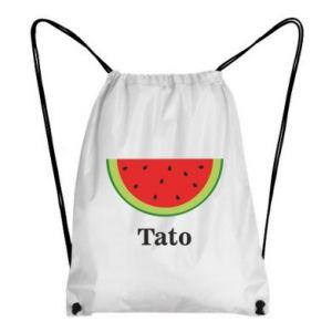 Backpack-bag Tato arbuza - PrintSalon