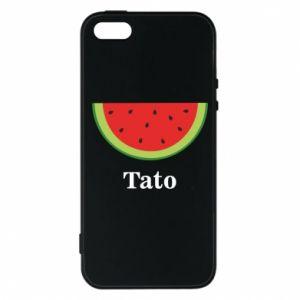 Etui na iPhone 5/5S/SE Tato arbuza