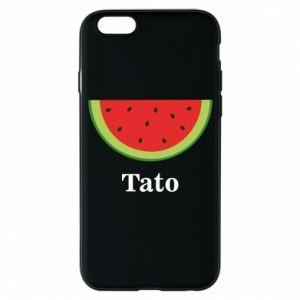 Phone case for iPhone 6/6S Tato arbuza - PrintSalon