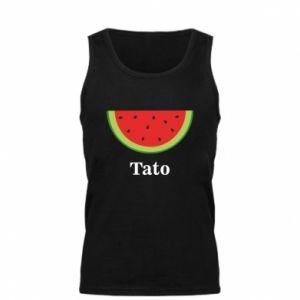 Męska koszulka Tato arbuza