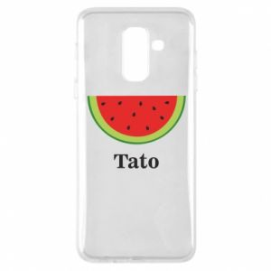 Phone case for Samsung A6+ 2018 Tato arbuza - PrintSalon